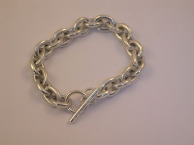 Heavy Cable Link Bracelet